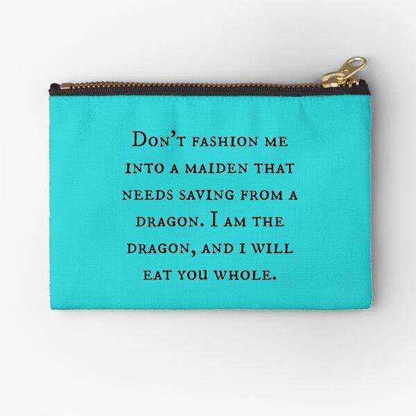 Dragon of Feminism 2 Zipper Pouch