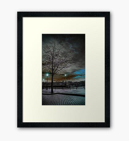 Solarisation Framed Print