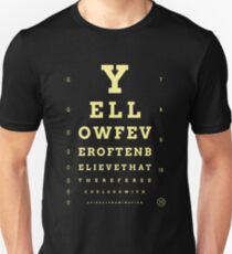One Eyed (Yellow) Slim Fit T-Shirt
