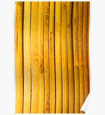 Bamboo Slats Poster