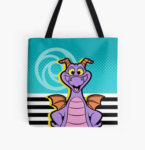 Bold Figment All Over Print Tote Bag