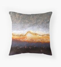 Barren Blizzard Throw Pillow