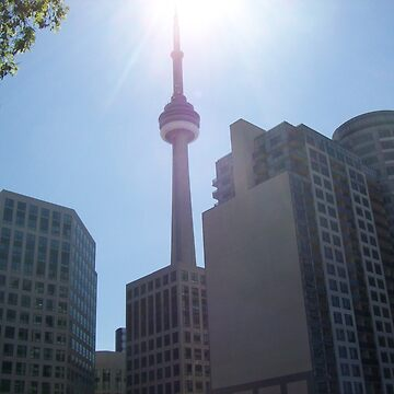 Toronto Canada's CN Tower by gesau