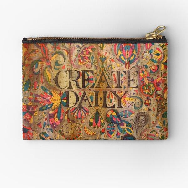 Create Daily Zipper Pouch