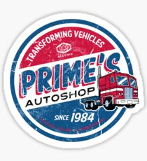 Prime's Autoshop Sticker