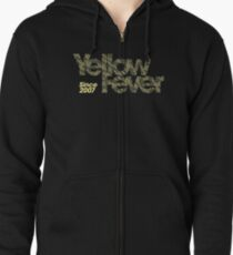 Squad Goals '15 (Yellow) Zipped Hoodie