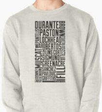 Squad Goals '11 (Black) Pullover Sweatshirt