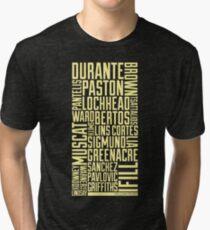 Squad Goals '11 (Yellow) Tri-blend T-Shirt