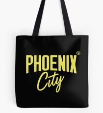 Phoenix City (Yellow) Tote Bag
