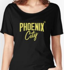 Phoenix City (Yellow) Relaxed Fit T-Shirt