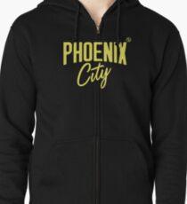 Phoenix City (Yellow) Zipped Hoodie