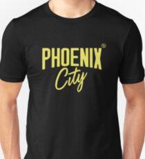 Phoenix City (Yellow) Slim Fit T-Shirt