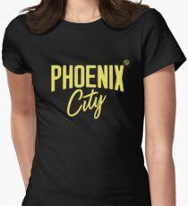 Phoenix City (Yellow) Fitted T-Shirt