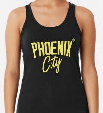 Phoenix City (Yellow) Racerback Tank Top