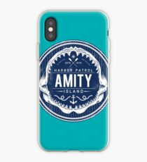 Amity Island Harbor Patrol iPhone Case