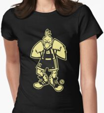 Ernie, The Fighting Chicken Fitted T-Shirt
