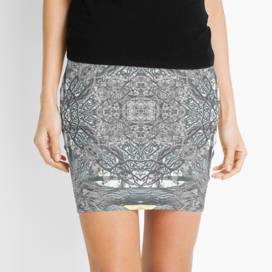 OLD JUNIPER MANDALA 2 Mini Skirt