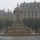 Rainy day in Paris by Elena Skvortsova