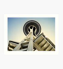Space Needle - Seattle, Washington Art Print
