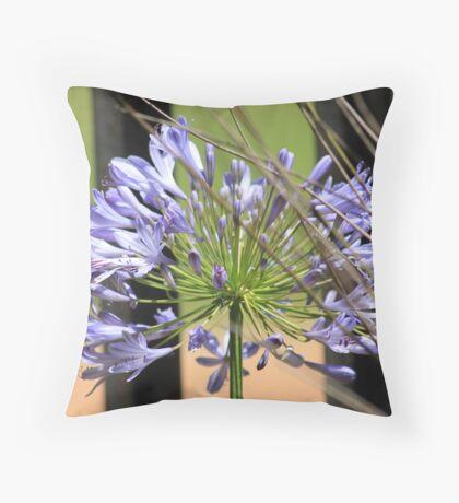 Agapanthus beauty Throw Pillow