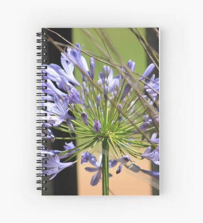 Agapanthus beauty Spiral Notebook