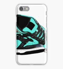 Tiffany Dunk Sneaker Illustration iPhone Case/Skin