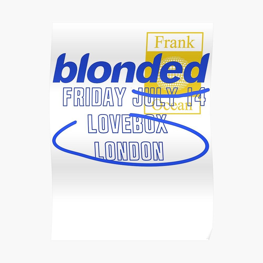 Lovebox Frank Poster