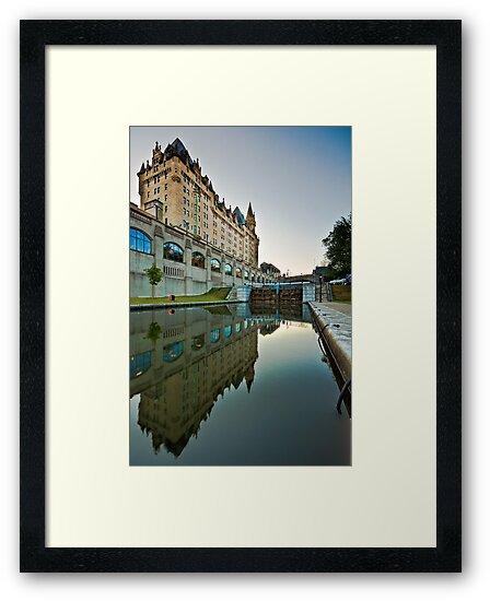 Fairmont Chateau Laurier by (Tallow) Dave  Van de Laar