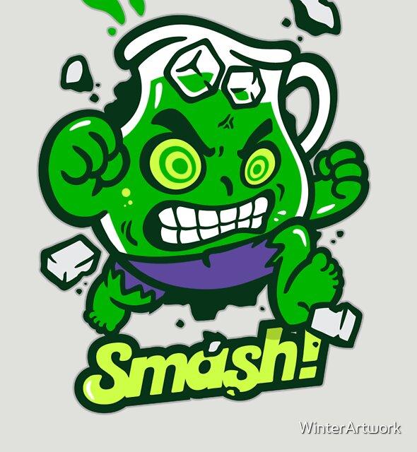 Smash! by WinterArtwork