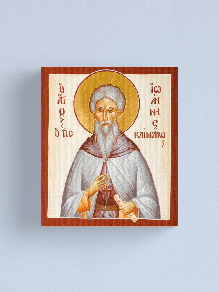 Alternate view of St John Climacus Canvas Print