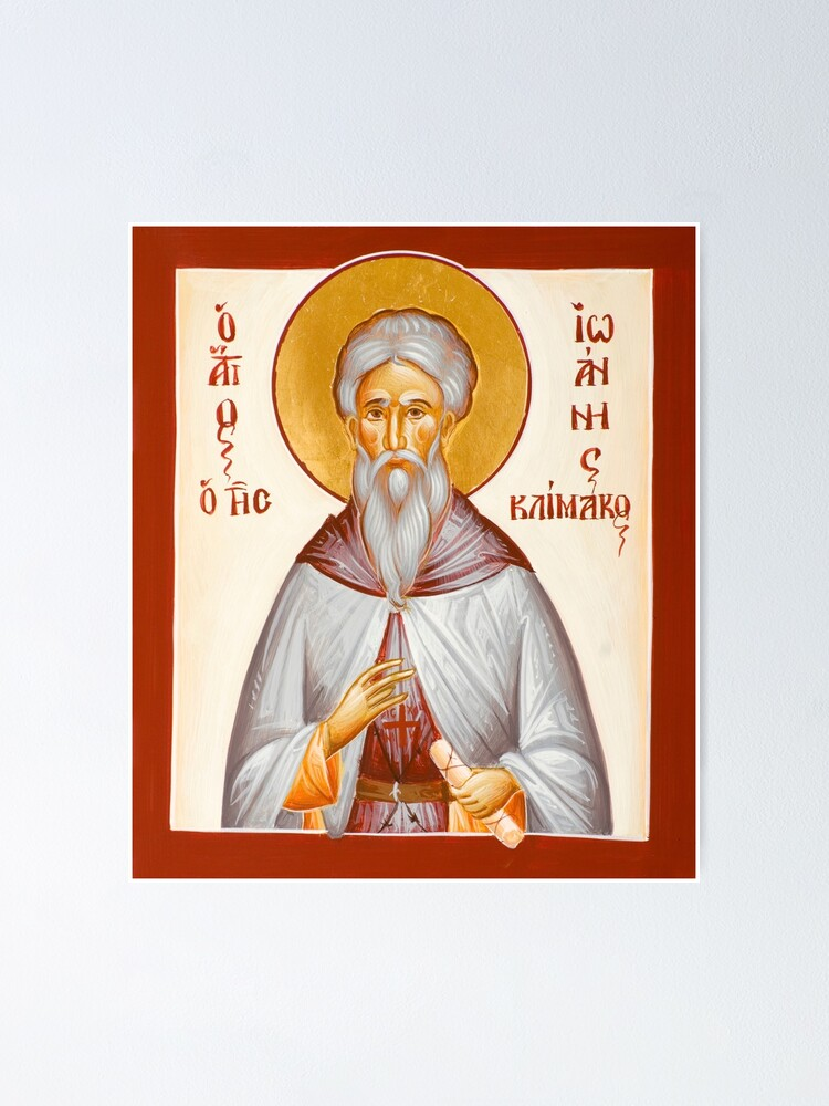 Alternate view of St John Climacus Poster