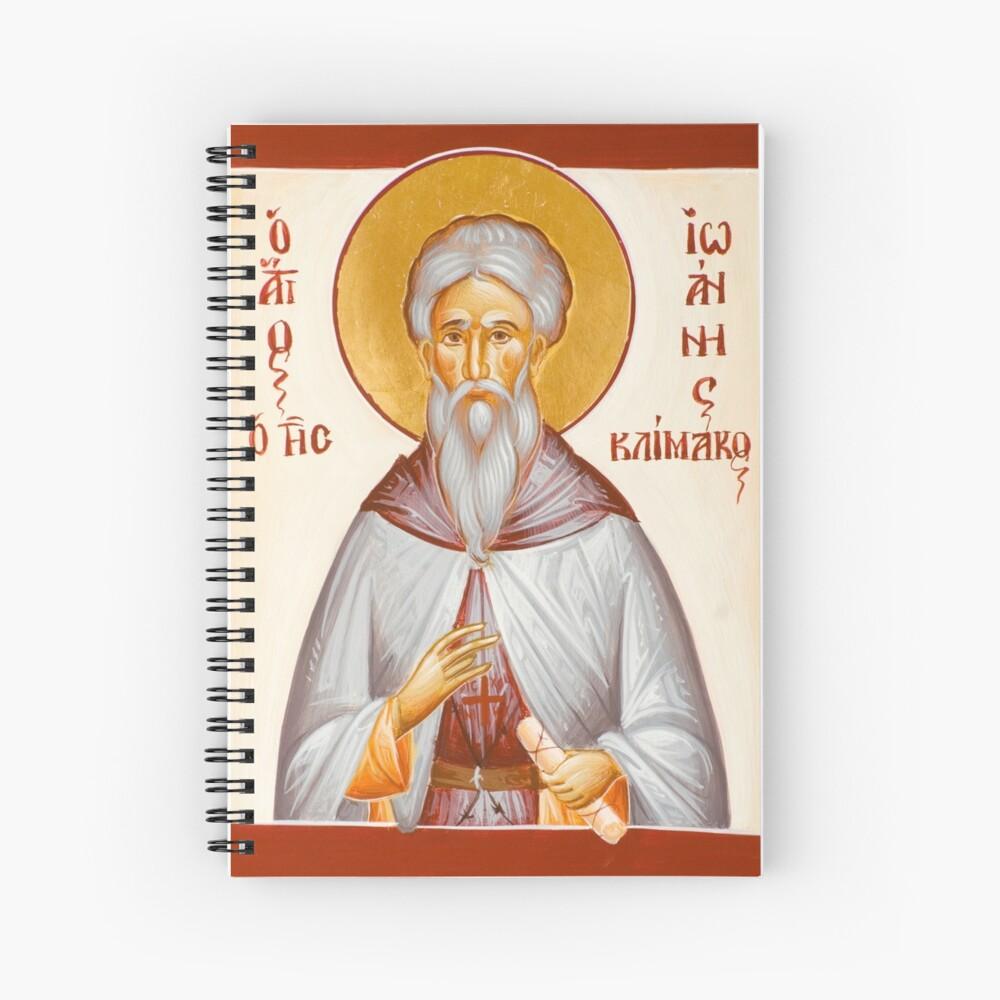 St John Climacus Spiral Notebook
