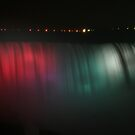 Niagara Falls at Night by FaithAmor