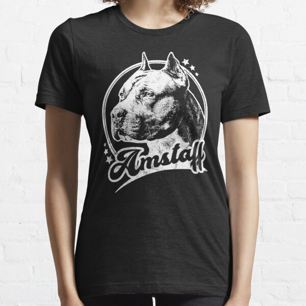 Retro Amstaff Dog Essential T-Shirt
