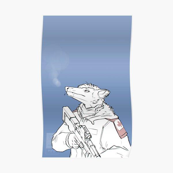Snow militia Poster