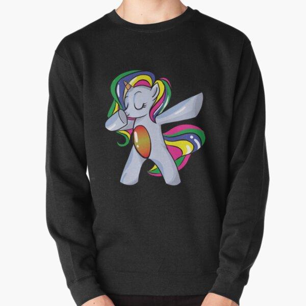 Dabbing Unicorn in a Classic Dab Pose Shirt Gift Idea Sweatshirt Royal Blue