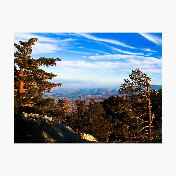 Palm Springs Tramway Photographic Print