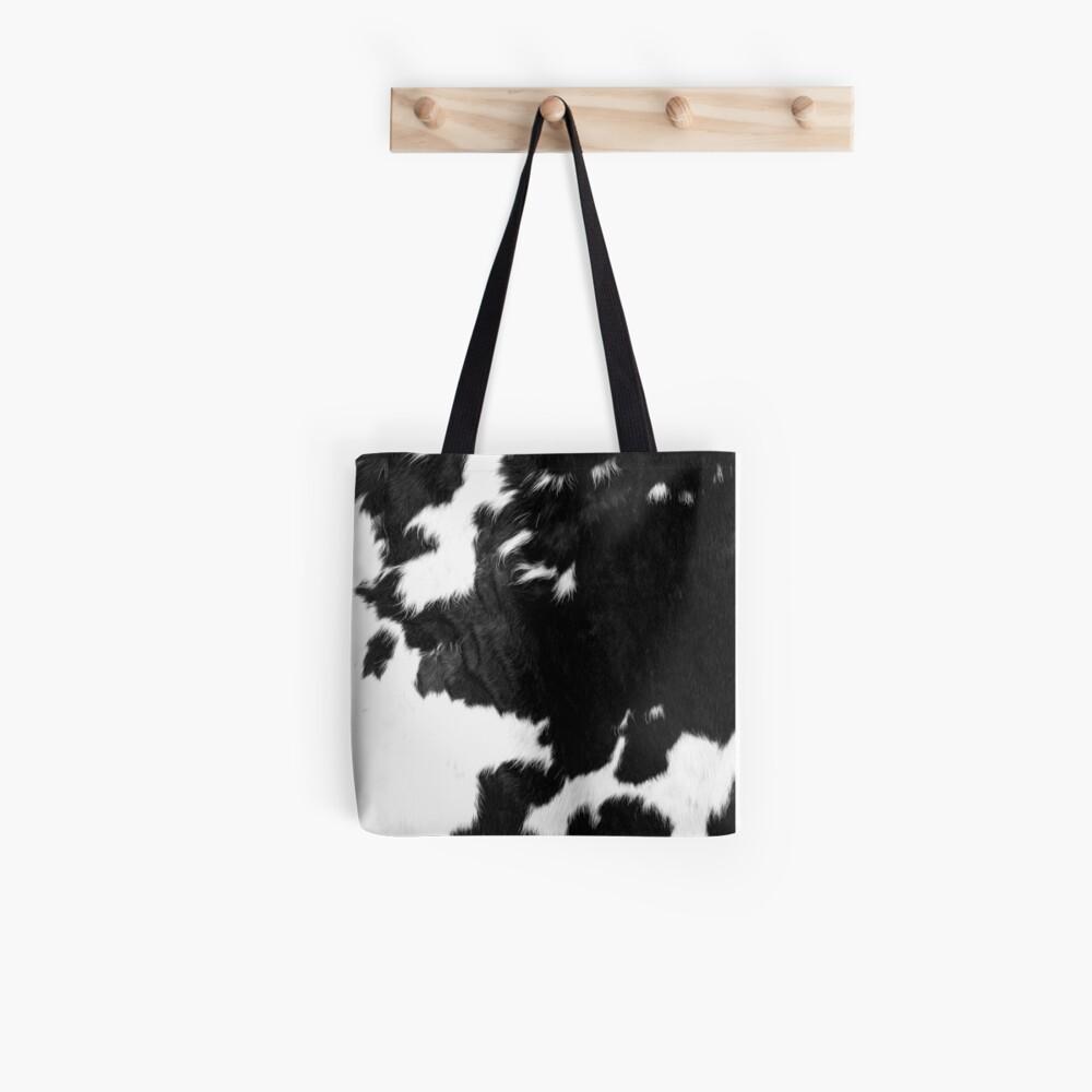Cowhide Spots Tote Bag