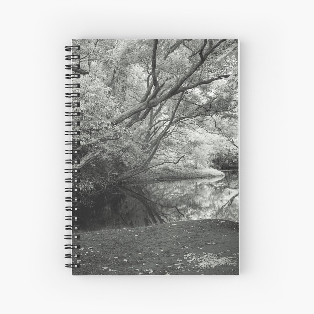 Reflecting infrared Spiral Notebook