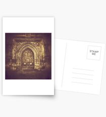 Ancient Doors, Bath Abbey Postcards