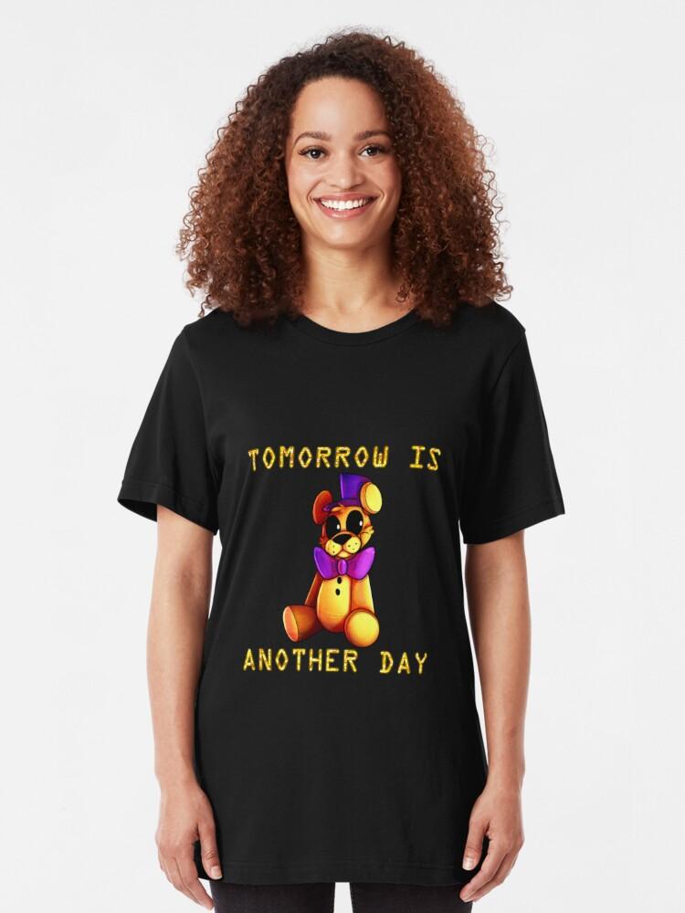 Alternative Ansicht von Morgen ist ein neuer Tag Slim Fit T-Shirt