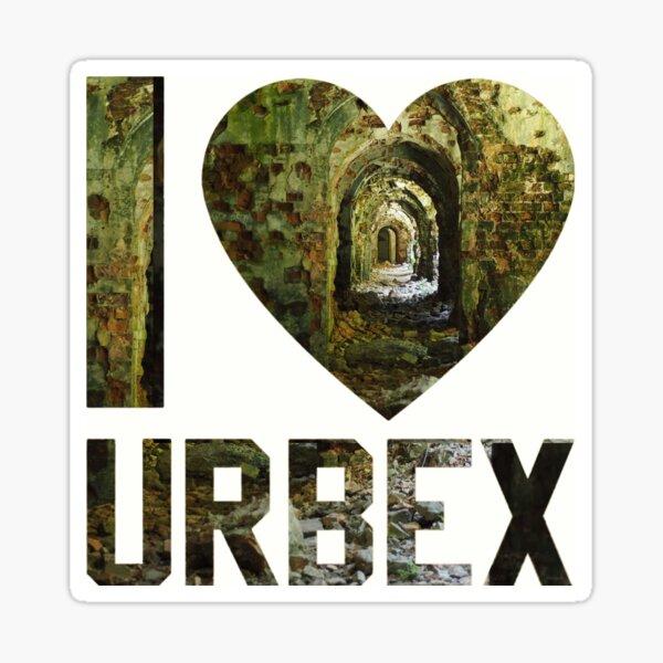 I love Urbex - abandoned fort Tarakanivsky in Ukraine Sticker