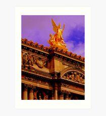 L'Opera Paris Art Print