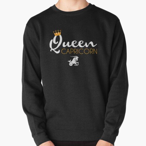 Queen Capricorn Zodiac December January Birthday Gift Shirt Pullover Sweatshirt