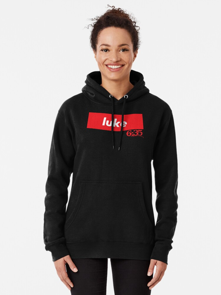 Alternate view of Luke 6:35 Bible Verse Inspirational Religious Biblical Phrase. But Love Your Enemies, Do Good To Them Without Expecting To Get Anything Back. Pullover Hoodie
