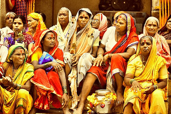 Waari - The colors of India by Prasad