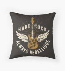Hard Rock Always Rebellious Floor Pillow