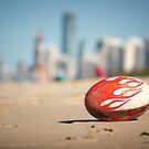 Gold Coast Genuine Dragon Egg - Surfers Beach Football © Vicki Ferrari Photography by Vicki Ferrari