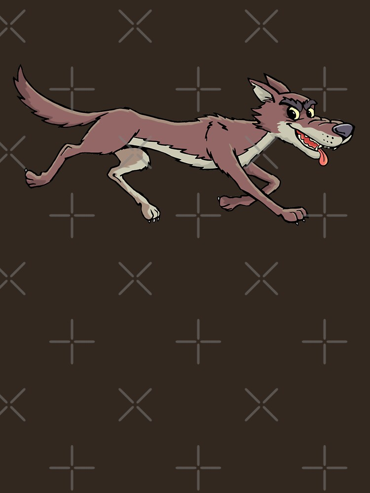 coyote in race by duxpavlic