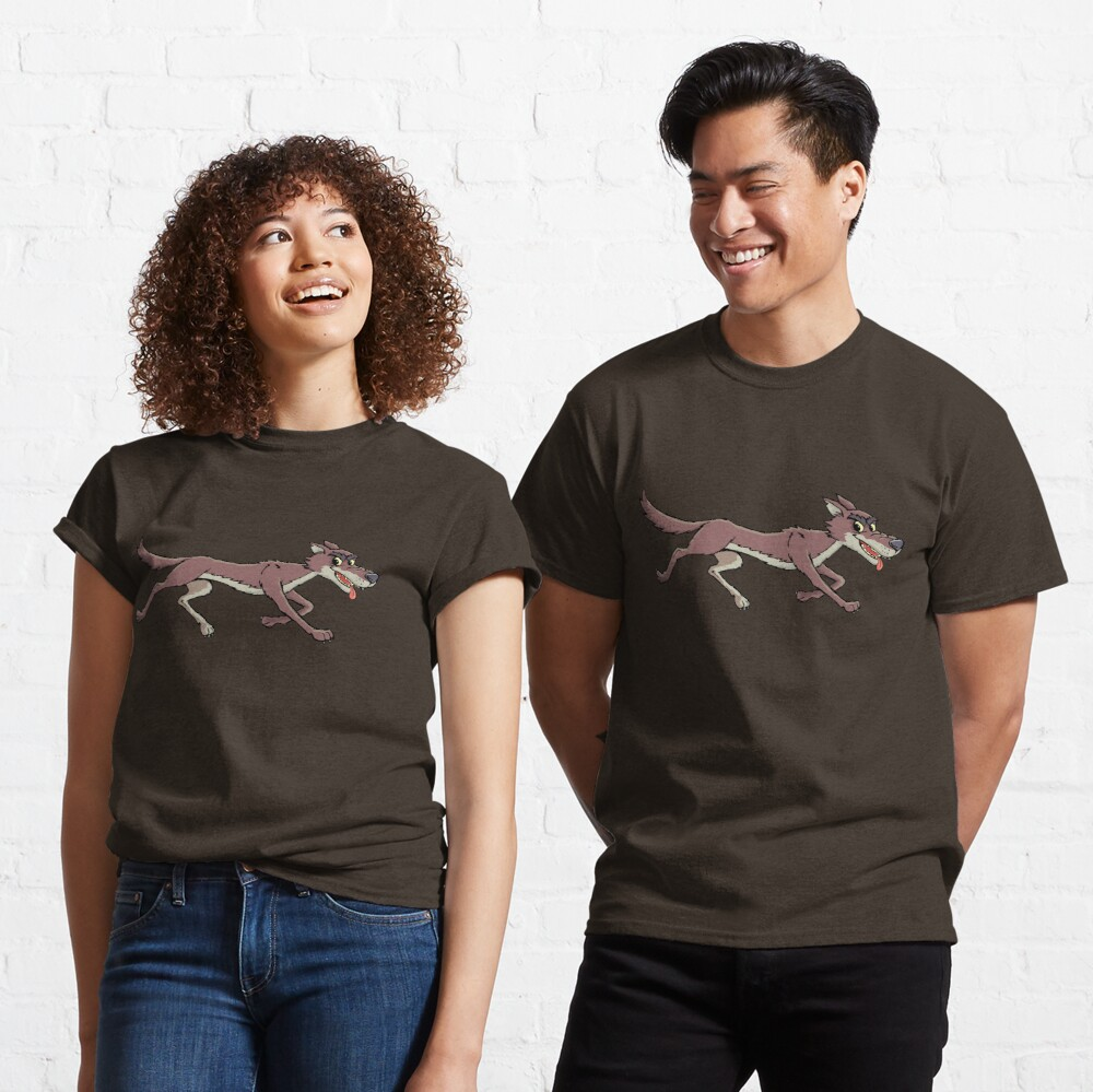 coyote in race Classic T-Shirt